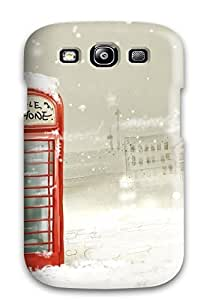 Defender Case For Galaxy S3, Winter Pattern by lolosakes