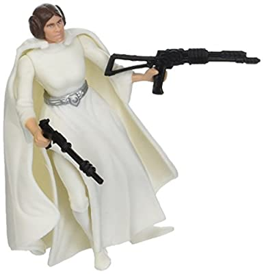 Star War Power of the Force Princess Leia Red Card Figure