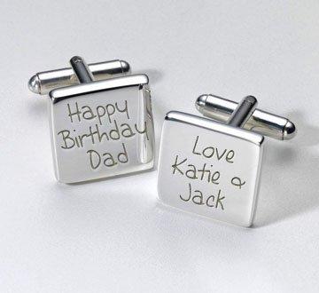 Feliz cumpleaños Papá Mancuernas cuadradas, regalo personaliseitonline, regalo, regalo especial, Personal