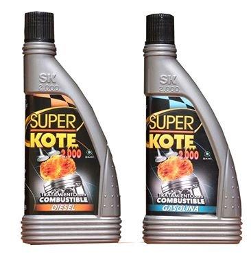 Tratamiento Combustible Superkote 2000 Diesel y Gasolina