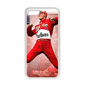 TYH - Michael Schumacher F1 Phone Case for Iphone 5c ending phone case