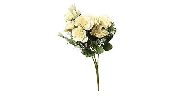 Myfilma 8 Unidades de Flores Artificiales de hortensias ...