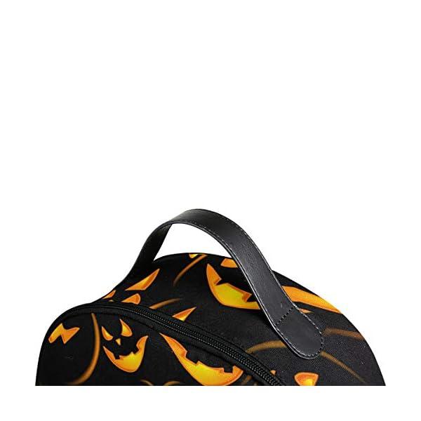 Halloween zucca nero zaino spaventoso per donne adolescenti ragazze borsa alla moda borsa libreria bambini viaggio… 4 spesavip