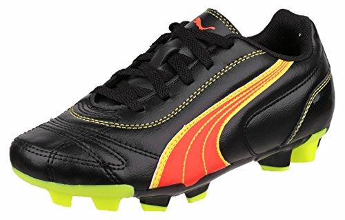 Puma Kratero moldeado botas de fútbol negro / naranja