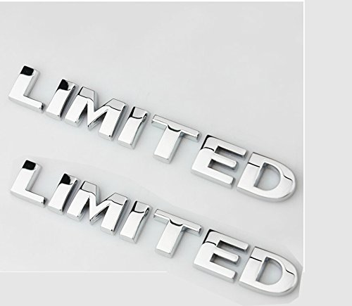 Metal Chrome LIMITED Emblem Badge Plate Decal for toyota Pillar Roof Side zorratin
