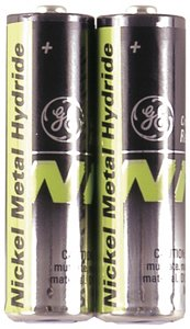 GE General Electric TL26604 Cordless Phone Battery; 1.2V; 1300mAH; Size AA; Compatible with V-Tech, AT&T, Uniden, Siemens and other Phones; Blister Pack of 2 Batteries