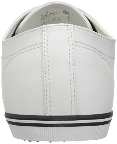 Perry Fred Fred Leather Navy Perry Kingston Kingston Leather Sneaker Sneaker White XqCgA