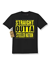 Expression Tees Straight Outta Steeler Nation Kids T-shirt