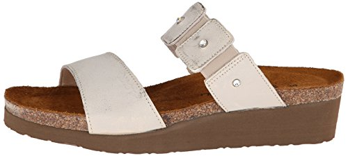 Naot Ashley White Leather Womens Sandals x6A4qwR6Hz
