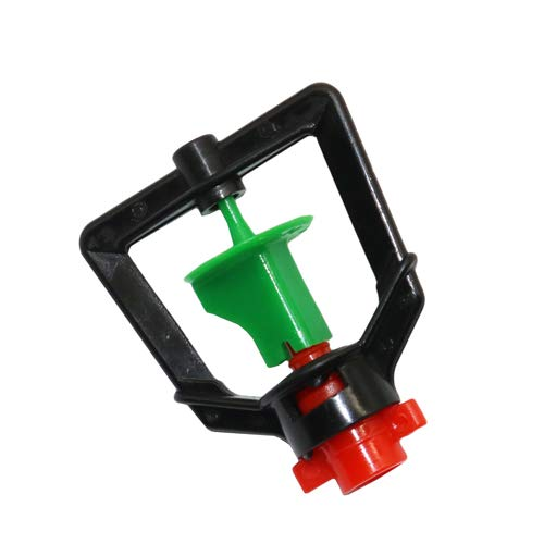 (Rotating Misting Nozzle   Low Pressure Sprayer   Watering Micro Garden Weed Irrigation Mist Cooling System Tool (5pcs))