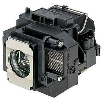 Supermait EP57 A+ Calidad Lámpara Bulbo de Repuesto para proyector con Carcasa, Compatible con Elplp57, Adecuada para EB-440W EB-450W EB-450Wi ...