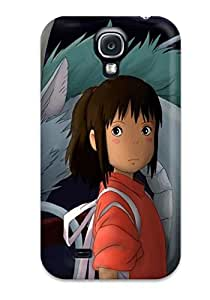 Durable Defender Case For Galaxy S4 Tpu Cover(spirited Away )