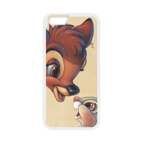 Bambi coque iPhone 6 Plus 5.5 Inch Housse Blanc téléphone portable couverture de cas coque EBDOBCKCO10560