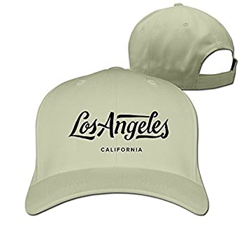 Los Angeles California Adjustabal Hats for Man Woman: Amazon.es ...