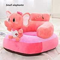 Chocozone Stylish Elephant Sofa for Kids Plush Chair for Children Animal Soft Toys Home Décor for Kids Room