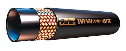 Parker Hannifin - 451TC-4-RL - 475 Ft. Synthetic Rubber Medium Pressure Hydraulic Hose