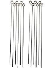Norpro Stainless Steel 12-Inch Skewers, Set of 12