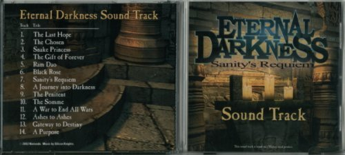 Eternal Darkness: Sanity's Requiem Nintendo Gamecube Soundtrack