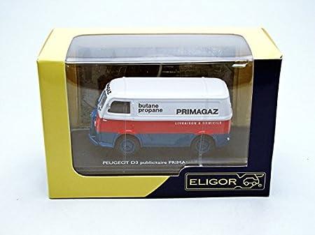 ELIGOR 1//43 Ref 101506 PEUGEOT D3 PUBLICITAIRE PRIMAGAZ BUTANE//PROPANE