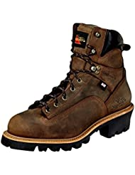 Thorogood Mens 6 Waterproof Lace-To-Toe Leather Logger