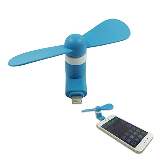 VIMVIP 8Pin Mini Portable Dock Cool Cooler Rotating Fan for iPhone 6/6 Plus iPhone 5,Enjoy the Cool Anywhere and Anytime