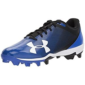 Under Armour Men's Leadoff Low RM, Black (001)/Team Royal, 10