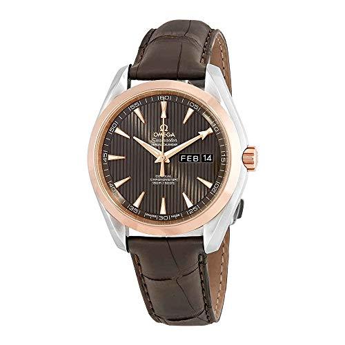 omega seamaster gold watch - 8
