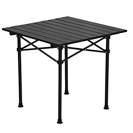 Amazoncom Xing Lin Outdoor Table Aluminum Alloy UltraLight - Picnic table specs