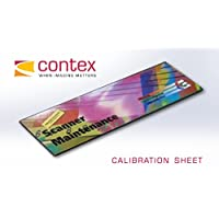 Contex 6798G016 CALIBRATION SHEET 42IN HD ULTRA