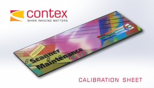Contex Calibration Sheet, 44'', Packed by Contex