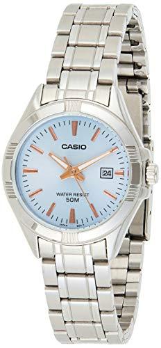 Casio Enticer Ladies Analog Blue Dial Women #39;s Watch LTP 1308D 2AVDF A1509