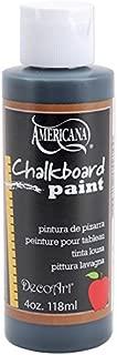 product image for DecoArt DS90-62 Americana Chalkboard Paint, 4-Ounce, Black Slate Chalkboard Paint