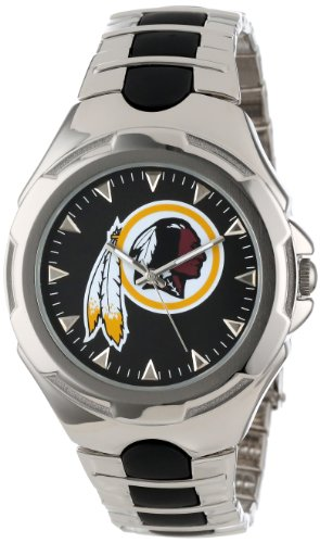 "Game Time Men's NFL-VIC-WAS ""Victory"" Watch - Washington Redskins"