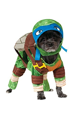[Rubies Costume Company Teenage Mutant Ninja Turtles Leonardo Pet Costume, Small] (Pomeranian Costume)