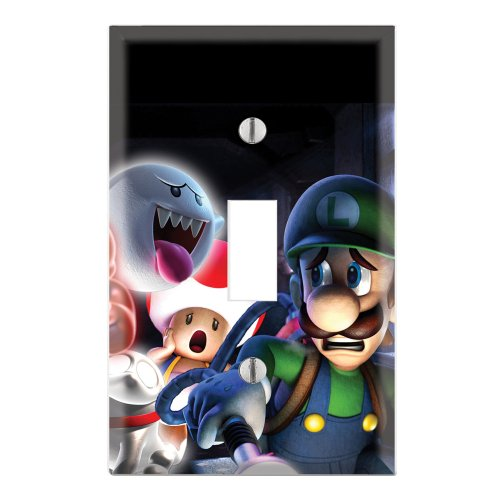 witch Cover Plate Decor Wallplate - Super Mario Luigi's Mansion ()