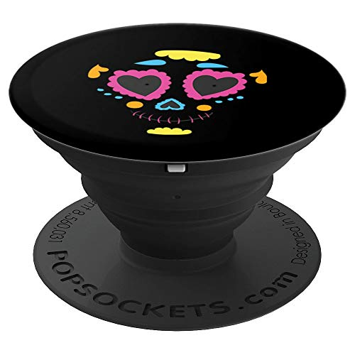 Sugar Skull costume Mexico Dia de los Muertos Catrina - PopSockets Grip and Stand for Phones and Tablets