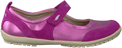 Geox - Zapatillas de Piel para niño Rojo - fucsia