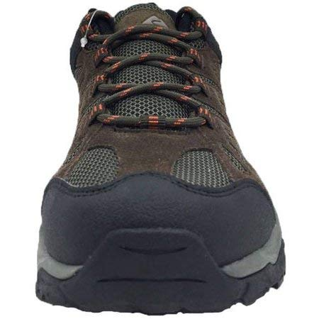 M US Ozark Trails 550044256 Brown Chocolate 8.5 B Ozark Trail Mens Mesh Low Hiker Shoe