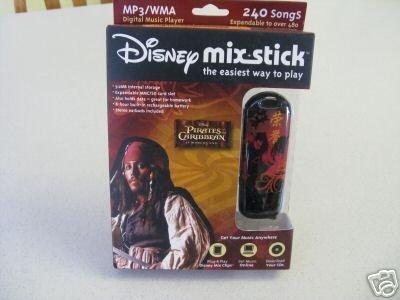 Pirates of the Caribbean Disney Mix Stick MP3 Player (1GB)