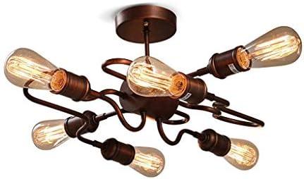 HDZWW Lámparas de techo de época Lámparas industriales Lámparas de ...