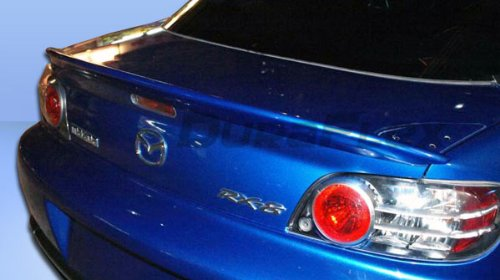 Duraflex Replacement for 2004-2011 Mazda RX-8 I-Spec Wing Trunk Lid Spoiler - 1 ()