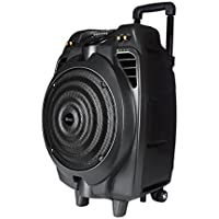 Supersonic IQ3016DJBT 10-Inch Rechargeable Bluetooth DJ Speaker