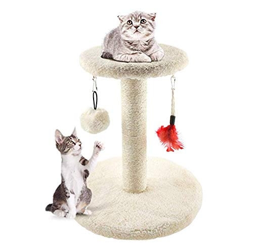 MXiiXM Cat Tree Tower, cat Climbing Frame Furniture Scratching Post for Kitty...
