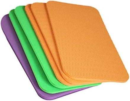 Amazing1 Yoga-Kniekissen, dick, Sitzkissen, Kniekissen für Sport, Outdoor, täglichen Gebrauch (zufällige Farbe, 34 x 17 x 0,6 cm)