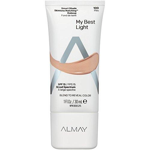 Almay Smart Shade Skintone Matching Makeup, Light