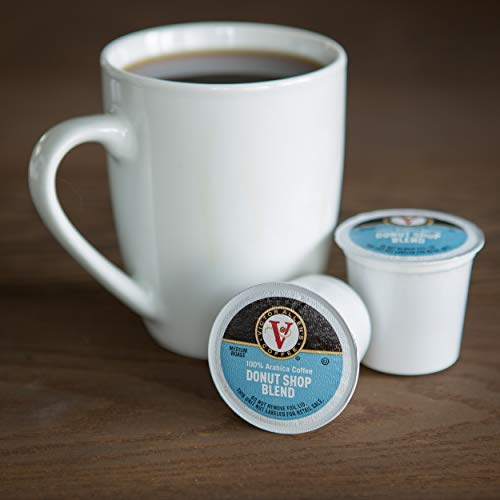 Victor Allen Coffee, Donut Shop Single Serve K-cup, 80 Count (Compatible with 2.0 Keurig Brewers) by Victor Allen (Image #3)