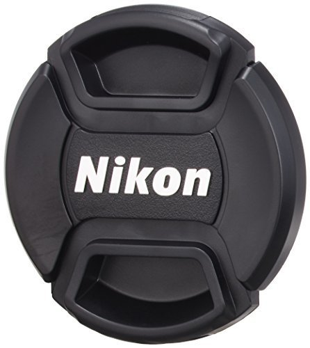 3 X Nikon LC-52 Snap on Front Lens Cap by NIKON