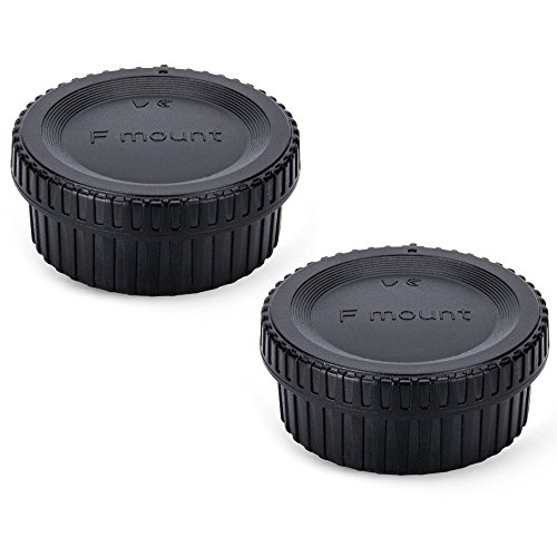 (2-Pack) JJC Body Cap and Rear Lens Cap Kit for Nikon for sale  Delivered anywhere in Canada