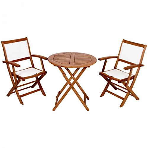 3tlg balkon m bel set panama garten sitzgruppe bistroset garnitur holz klappbar terasse ge lt. Black Bedroom Furniture Sets. Home Design Ideas