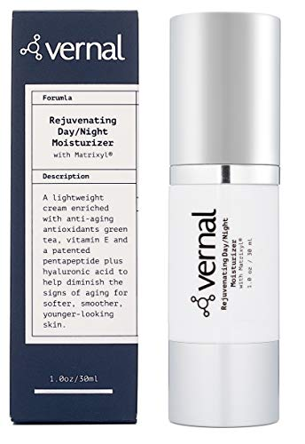 Vernal All in One Anti Aging Cream – Collagen Infused Wrinkle Smoothing Cream | Get Smoother, Firmer & Luminous Looking Skin Without Injections or Fillers | Best Anti Wrinkle Cream ()